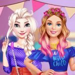 Princesses Dorm Party!